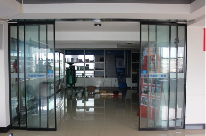 Clear passage width exterior sliding glass doors LW 1800-4000mm