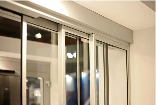 Glass Automatic Telescopic Sliding Door