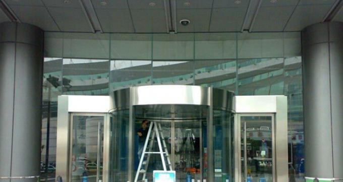 Round Automatic Curved Sliding Door Hotel Auto Sliding