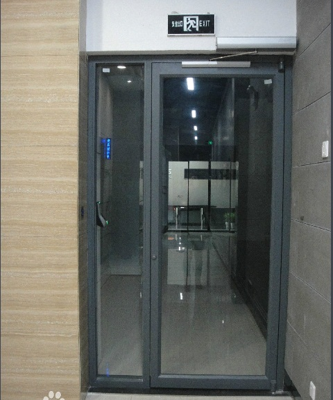 Commercial hospital automatic swing door opener with