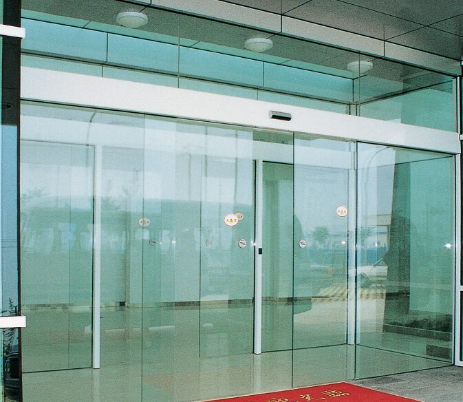 Automatic Sliding Glass Doors: Ultra Slim Auto Sliding Door Operator Automatic Sliding
