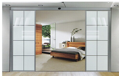 Cold room indoor Residential Automatic Sliding Doors Operator with sensors