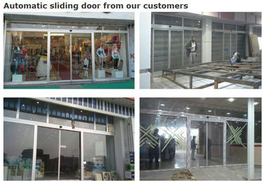 China Safety Commercial Automatic Sliding Doors Silent Resistant High Heat And Cold supplier