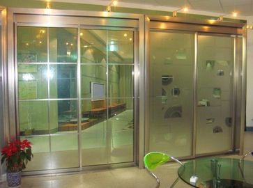 China Alloy Beam Residential Automatic Sliding Doors Drive 2000x2200mm supplier