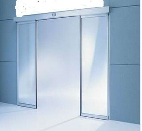 China motorized Commercial Automatic Sliding Doors Slender portal for Office Building supplier