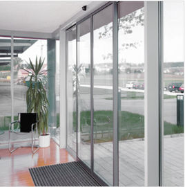 China Slender fine-frame profiles Commercial Automatic sliding doors system 4800*4200mm supplier