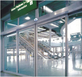 China Stable performance slender shape Automatic Glass Sliding Doors high-power supplier