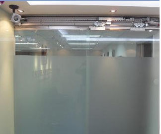 China Electric automatic sliding glass doors Operator  420cm*26cm*12cm supplier