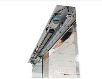 China LED display Controller Shopping center Automatic Sliding Door , 150mm depth track supplier