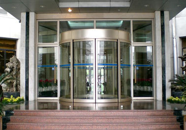 China Mansion Double wing automated commercial automatic sliding glass doors supplier