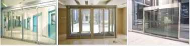 China Bright Narrow Framing Commercial Automatic Sliding Doors Dorma , Geze Operator System supplier