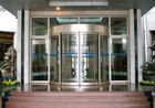China Mansion Double wing automated commercial automatic sliding glass doors factory