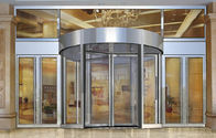 China Building Entry automatic revolving door for PLA Academy of Military Sciences university factory