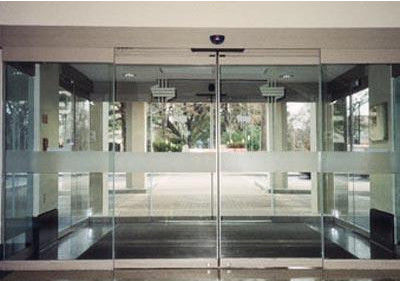 Frameless automatic glass sliding doors for shopping for Center sliding patio doors