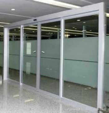 250kg 100w Safety Automatic Glass Sliding Doors Motor Electric