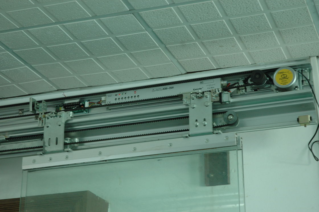Single double open automatic sliding door commercial for Automatic sliding door
