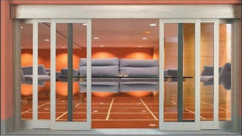 China Shopping Center / Mansion Telescopic Sliding Door With High Loading  Supplier