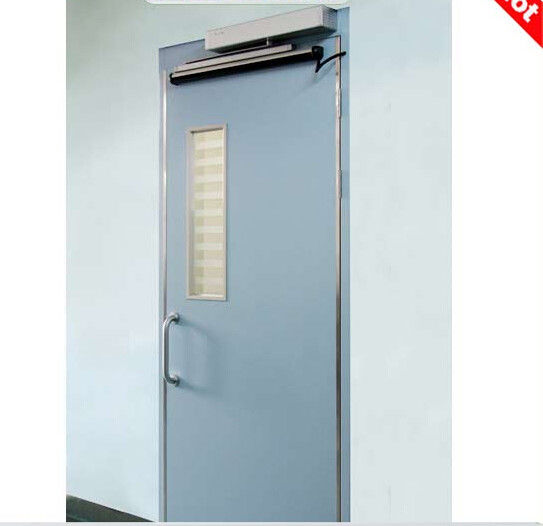 Hospital customizd automatic double swing protective door