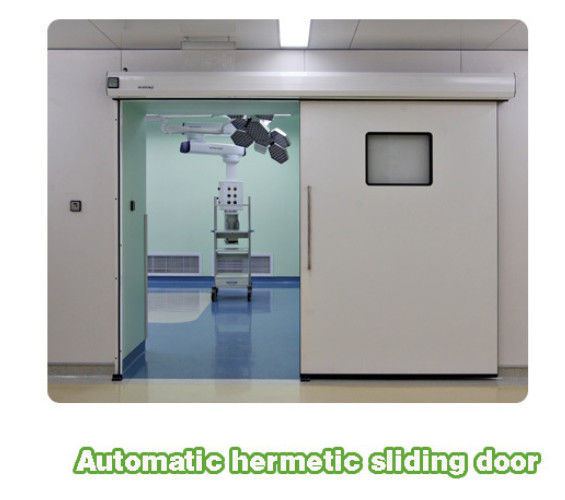 China Large Swing Hospital Clean Room Airtight Door Support Customized Size  Supplier