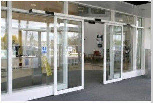 China Unique Aluminum Track Automatic Sliding Door ,  hospital auto sliding glass door distributor