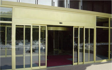 China Auto Telescopic Sliding Door with remote or Microcomputer Controller distributor