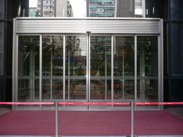 China Diaphanous Gass aluminum profile exterior Telescopic Sliding Door OEM Service distributor
