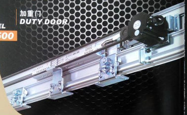 China DC24V 120W Brushless DC Motor Silver Heavy Duty Door , Loading capacity 350kg*2 distributor