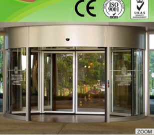 China Professional Flat / bent tempered glass Curved Sliding Door for Theatres distributor