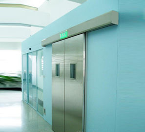 China Heavy duty and safety system Automatic hospital clean room door with foot sensor distributor