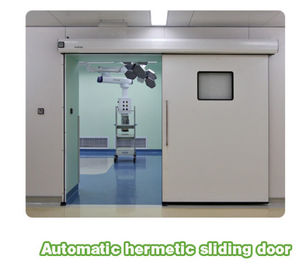 China Large swing hospital clean room airtight door support Customized size distributor